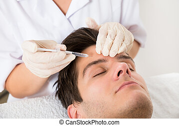 botox, bánásmód, ember, birtoklás