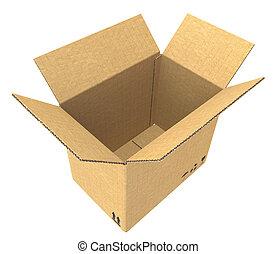 box., kartonpapír, nyílik