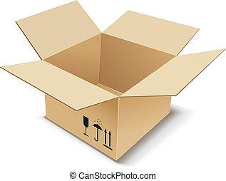 box., kartonpapír