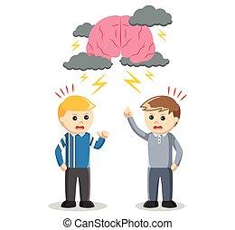 brainstroming, ügy sportcsapat