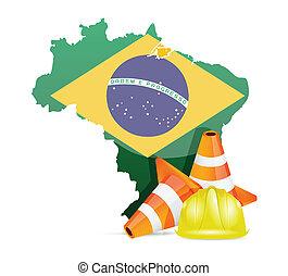 brazília, szerkesztés, fogalom, alatt