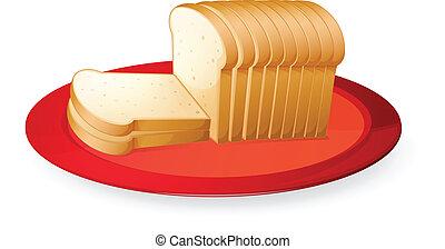 bread, szelet