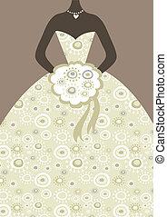bridal ruha