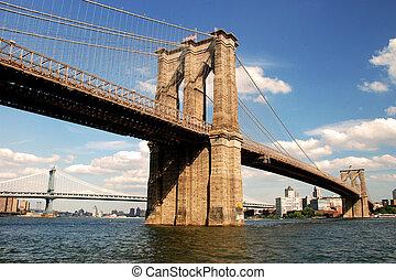 bridzs, brooklyn, york, új, város
