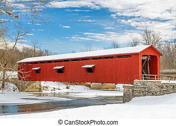 bridzs, havas, piros, befedett
