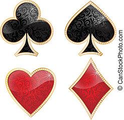 brilliants, játék kártya