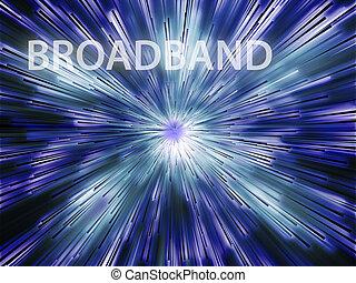 broadband, ábra