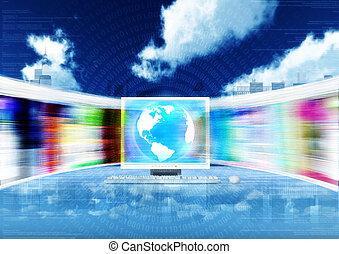 broadband, internet, fogalom