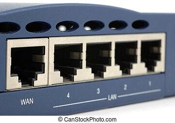 broadband, router, hát