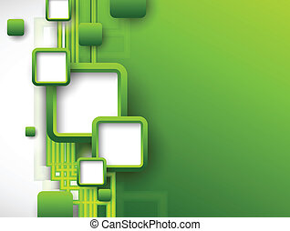brosúra, elvont, zöld