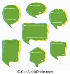 buborék, kivonat tervezés, üzenet