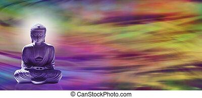 buddha, energia, transzparens