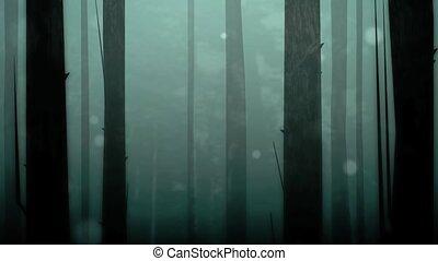 bukfenc, bűbájos, erdő, hd