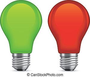 bulbs., fény