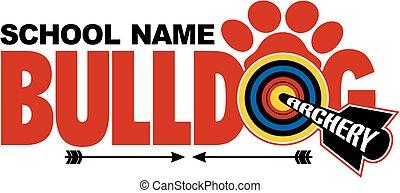 bulldog, íjászat