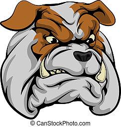 bulldog, betű, kabala