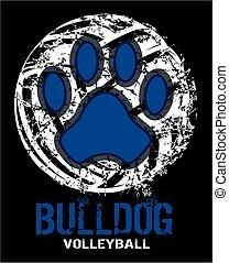 bulldog, röplabda