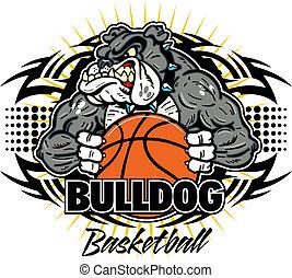 bulldog, törzsi, kosárlabda