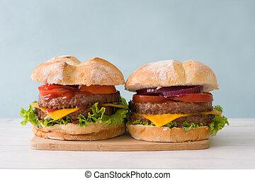 burgers, finom, sajt