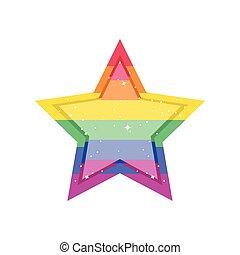 buzi, csillag, fehér, büszkeség, háttér