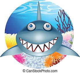 cápa, betű, karikatúra