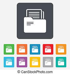 cégtábla., jelkép., kévekötő, számvitel, irattartó, dokumentum