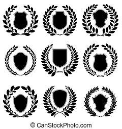 címertani, állhatatos, emblémák