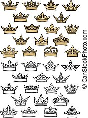 címertani, állhatatos, királyi lombkorona, császári