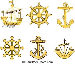 címertani, állhatatos, tengeri