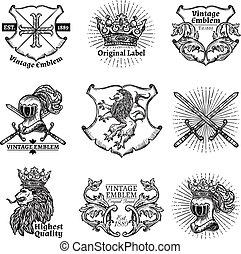 címertani, emblémák, állhatatos