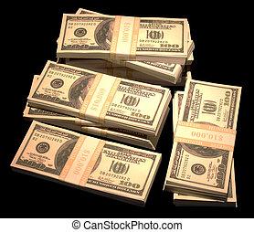 cölöp, készpénz