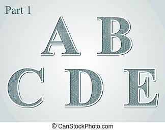c-hang, b betű, irodalomtudomány, átmérő, guilloche, kelet