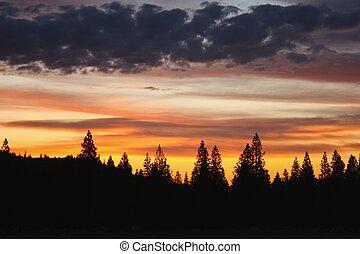 california naplemente, északi