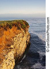 california part, napnyugta, szirt