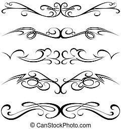 calligraphic, tetovál