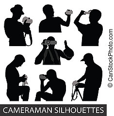 cameramen, vektor