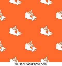 canada térkép, seamless, motívum