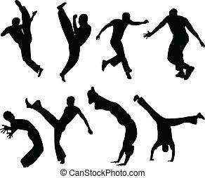 capoeira, körvonal