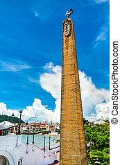 casco, las, viejo, obeliszk, panama, bovedas