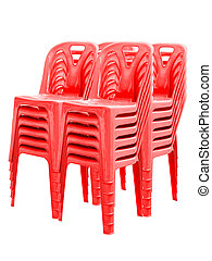 chairs., műanyag