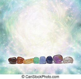 chakra, kristály, evez