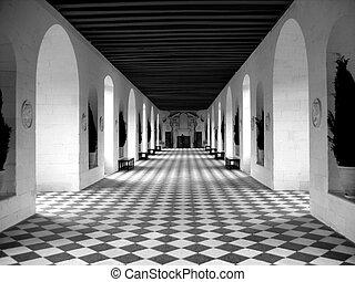 checkerboard padló