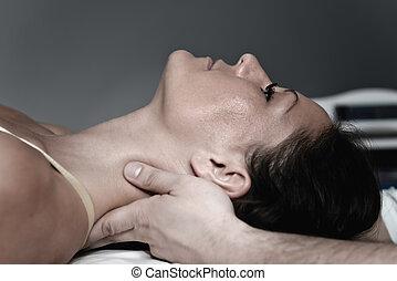 chiropractic bánásmód, nyak