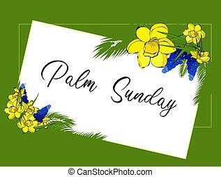 christianity.., card., religion., köszönés, pálma, eredet, sunday., menstruáció