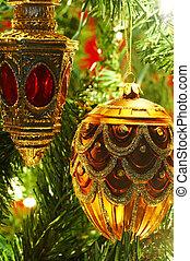 christmas dekoráció, fa