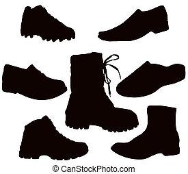 cipő, mens