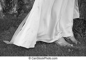 cipők, esküvő