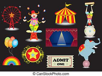 cirkusz, állhatatos