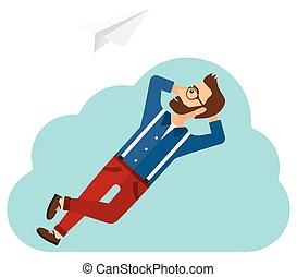 cloud., bágyasztó, üzletember