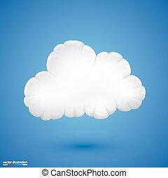 cloud., vektor